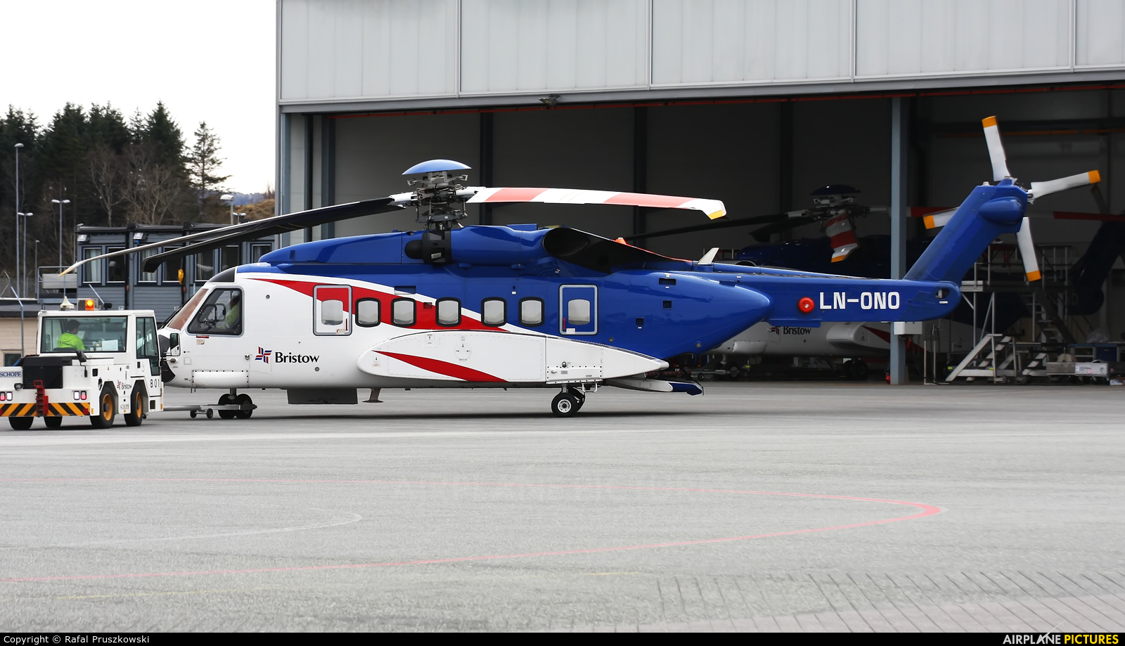 Bristow Norway LN-ONO aircraft at Bergen - Flesland