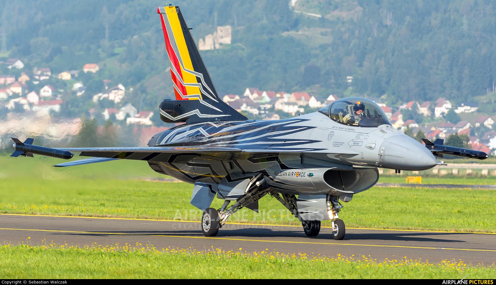 Belgium - Air Force FA-123 aircraft at Zeltweg