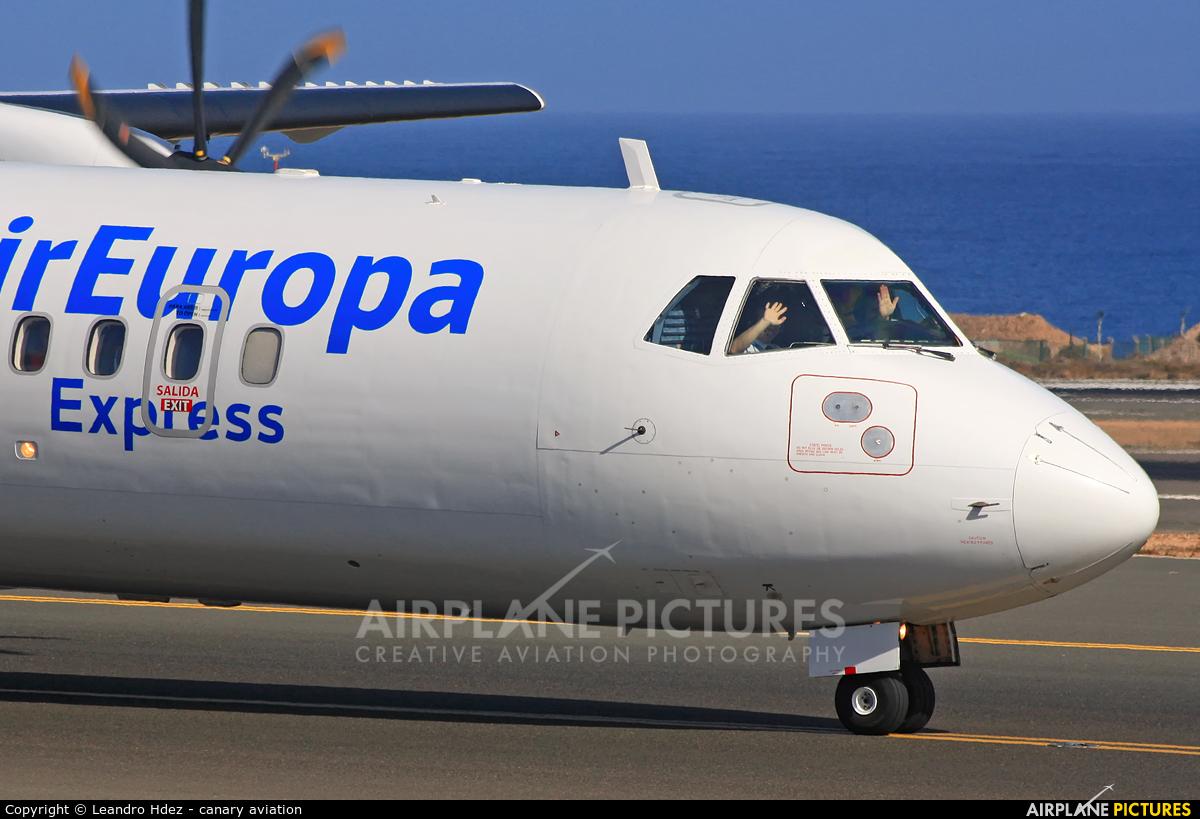Air Europa EC-MMZ aircraft at Aeropuerto de Gran Canaria