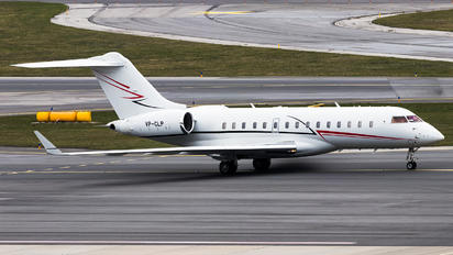VP-CLP - Private Bombardier BD-700 Global Express XRS