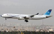 EP-DAA - Iran - Government Airbus A340-300 aircraft