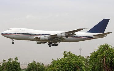 EP-CQB - Iran - Islamic Republic Air Force Boeing 747-100