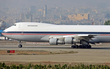 5-8113 - Iran - Islamic Republic Air Force Boeing 747-200F