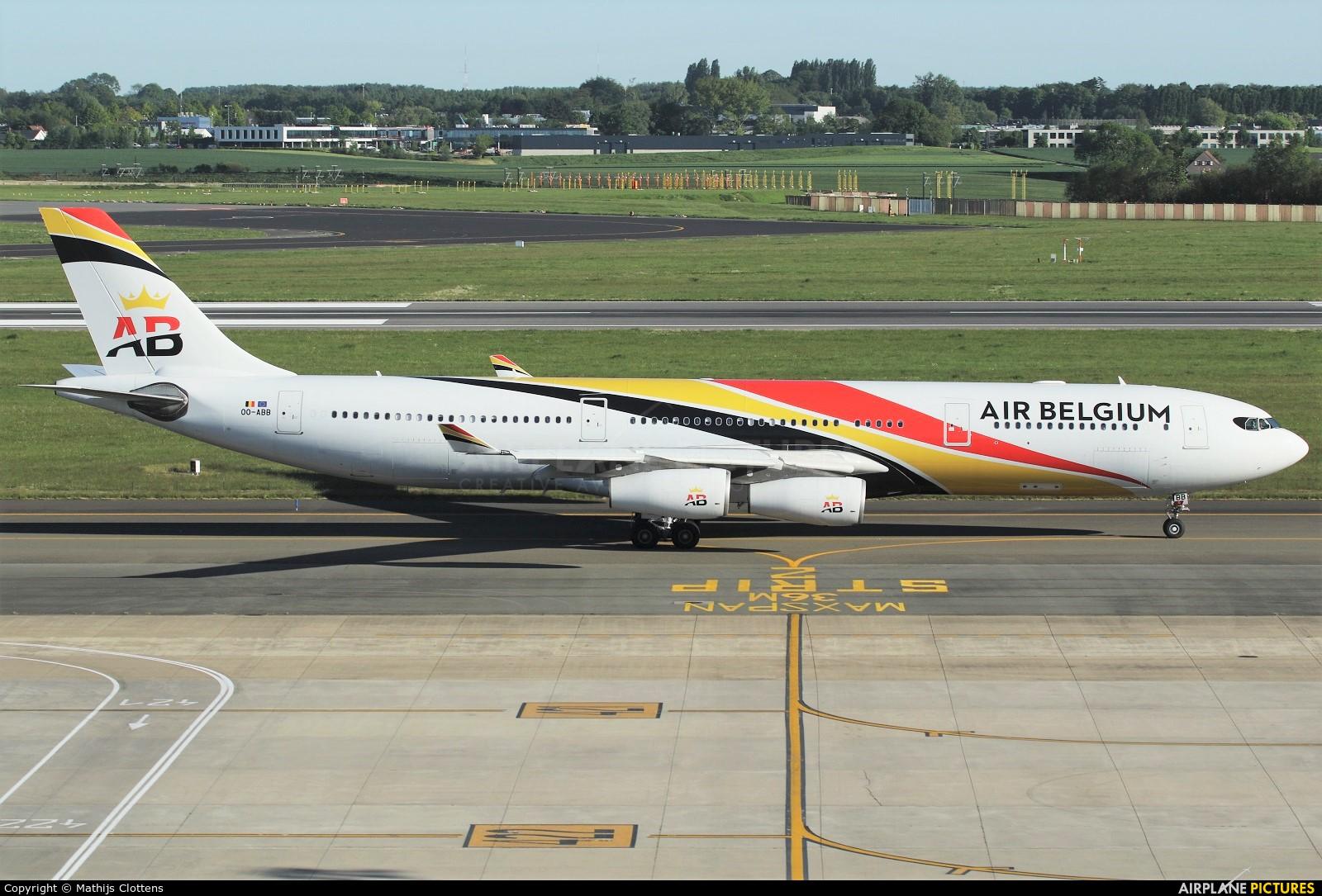 Air Belgium OO-ABB aircraft at Brussels - Zaventem