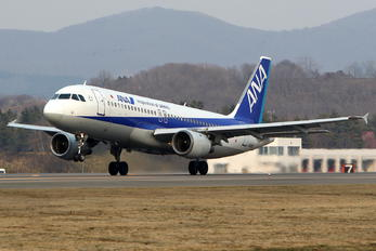 JA8300 - ANA - All Nippon Airways Airbus A320