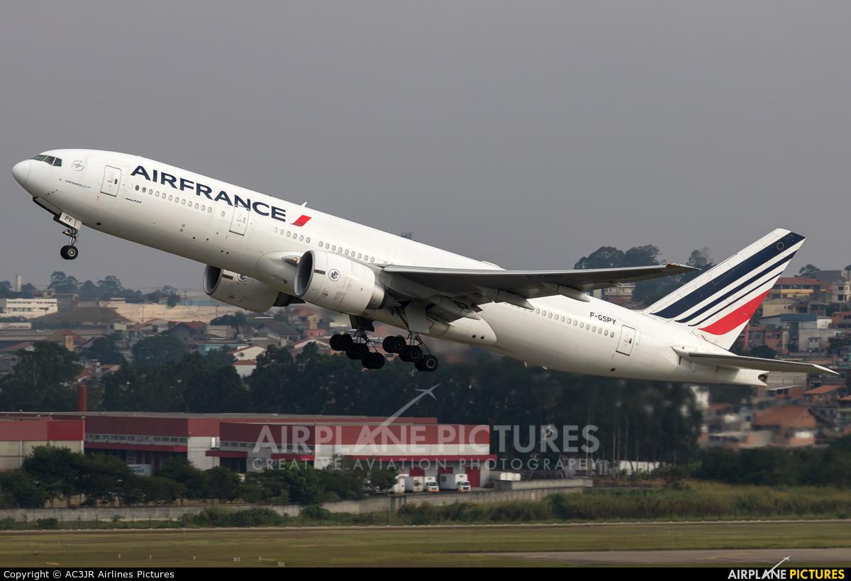 Air France F-GSPY aircraft at São Paulo - Guarulhos