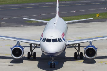 G-EUPL - British Airways Airbus A319