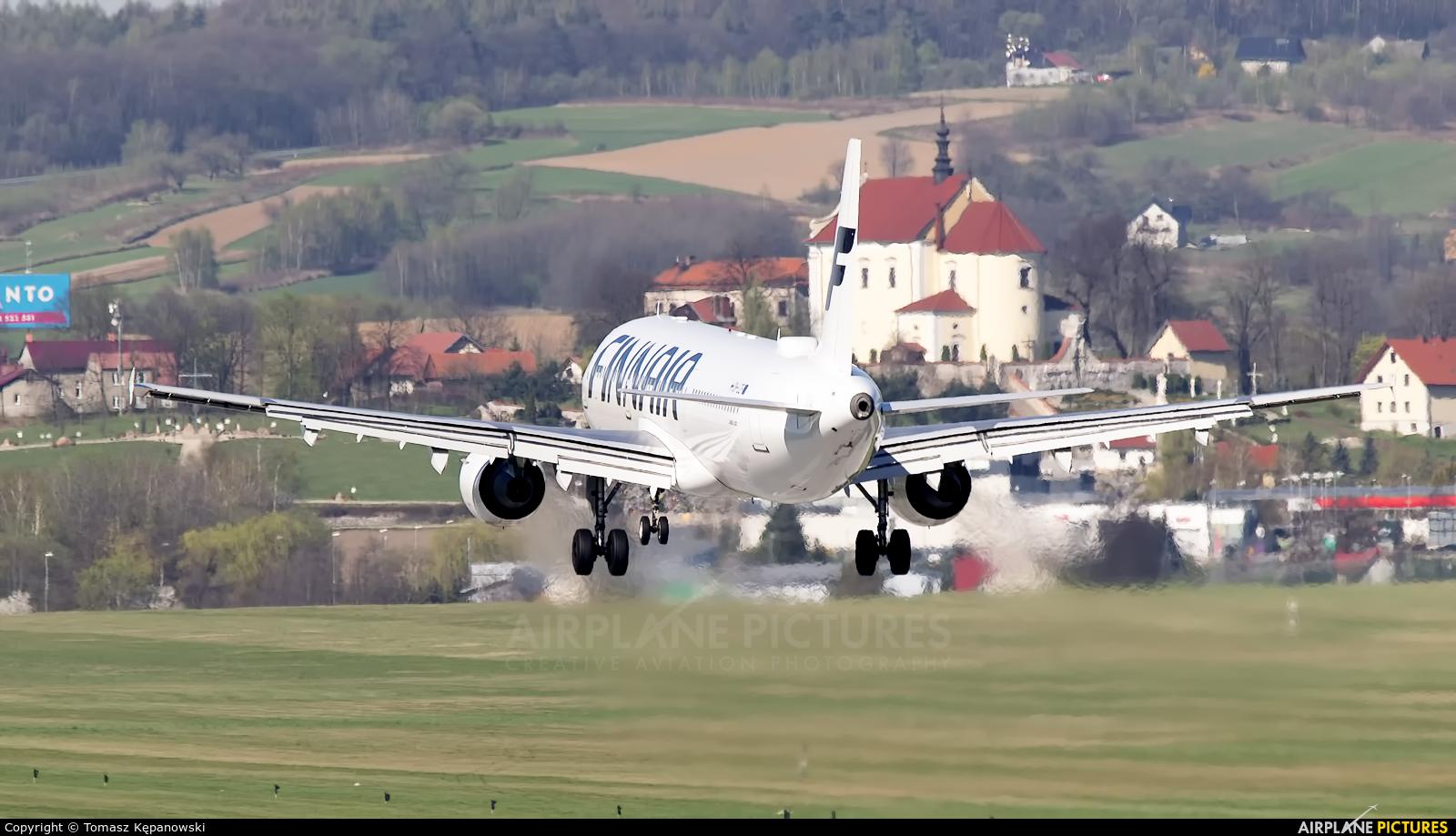 Finnair OH-LZF aircraft at Kraków - John Paul II Intl