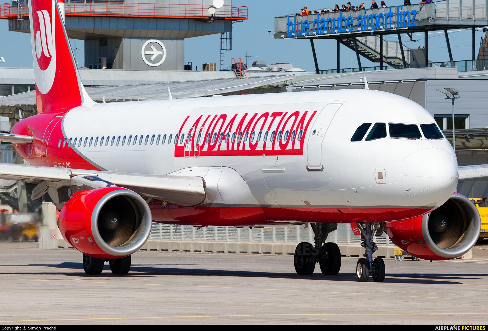 LaudaMotion OE-LOF aircraft at Linz