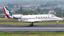 Rare visit of Mexican Air Force Gulfstream G150 to San Jose title=