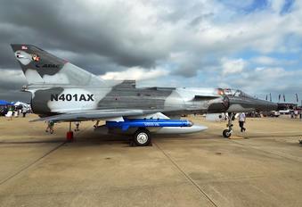 N401AX - Private Israel IAI F-21A Kfir