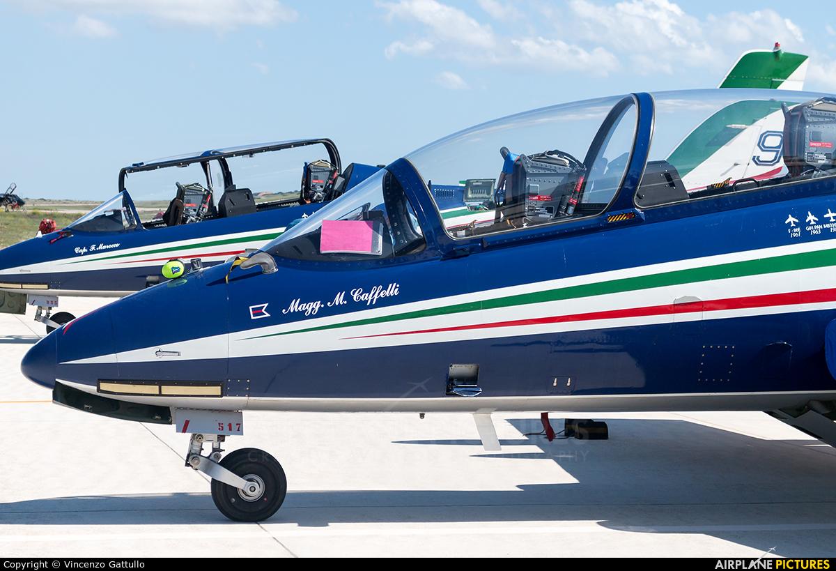 """Italy - Air Force """"Frecce Tricolori"""" MM54480 aircraft at Gioia del Colle"""