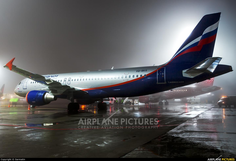 Aeroflot VQ-BKS aircraft at Kazan