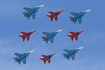 """31 - Russia - Air Force """"Strizhi"""" Mikoyan-Gurevich MiG-29"""