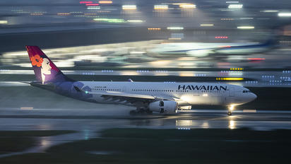 N386HA - Hawaiian Airlines Airbus A330-200