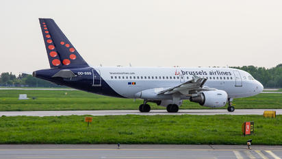 OO-SSS - Brussels Airlines Airbus A319
