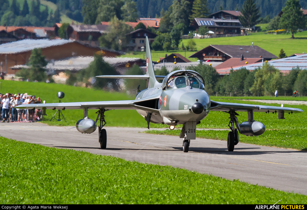 Private HB-RVR aircraft at St. Stephan