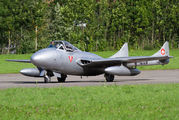 HB-RVF - Private de Havilland DH.115 Vampire T.55 aircraft