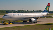 ZS-SXX - South African Airways Airbus A330-200 aircraft