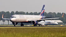VP-BFK - Aeroflot Airbus A321 aircraft