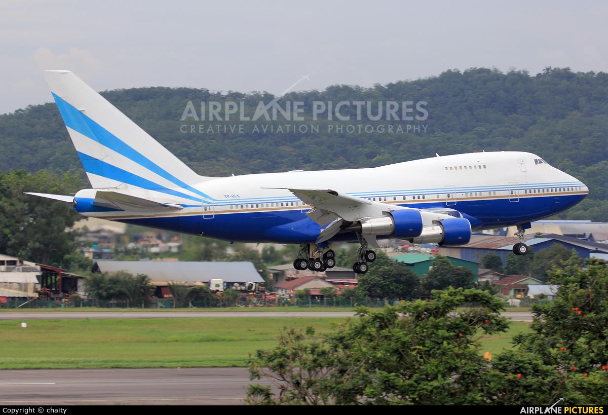 Las Vegas Sands VP-BLK aircraft at Subang - Sultan Abdul Aziz Shah