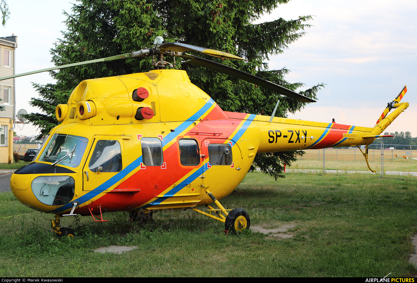 Polish Medical Air Rescue - Lotnicze Pogotowie Ratunkowe SP-ZXY aircraft at Warsaw - Babice