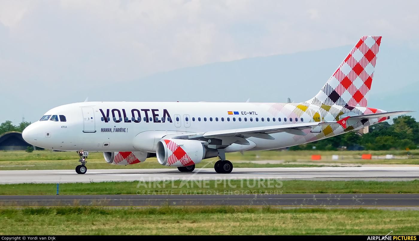 Volotea Airlines EC-MTL aircraft at Verona - Villafranca