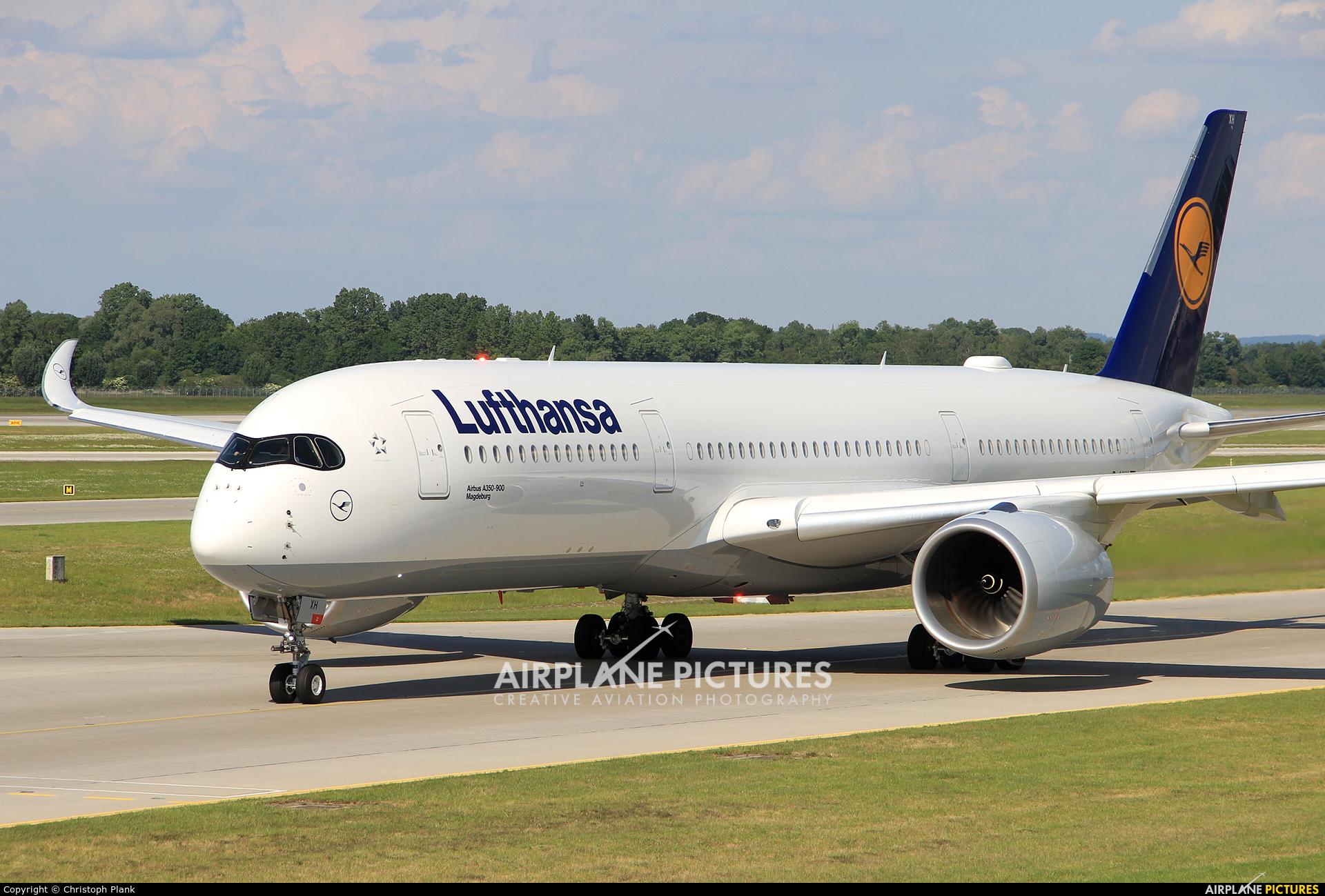 Lufthansa D-AIXH aircraft at Munich