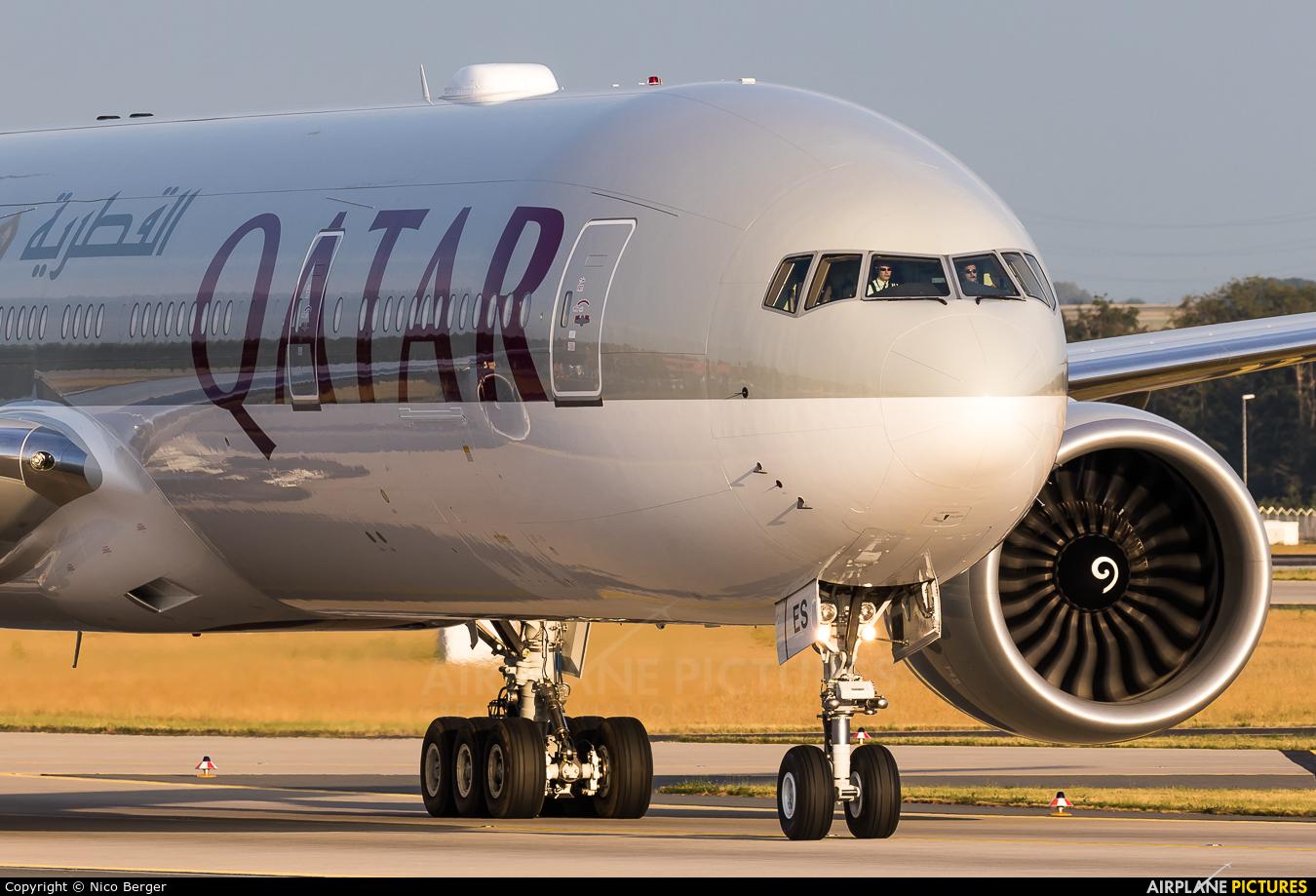 Qatar Airways A7-BES aircraft at Frankfurt