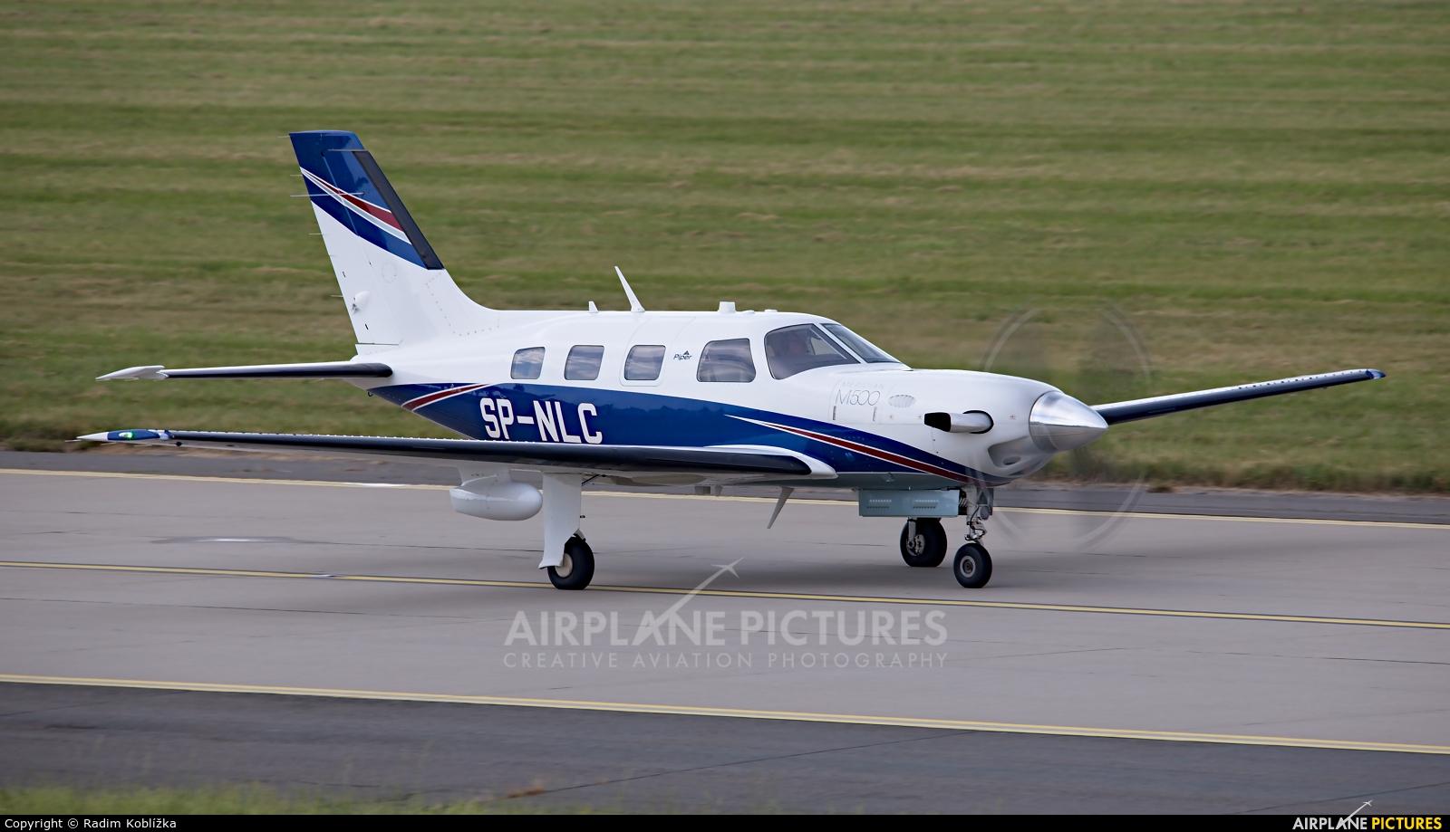 Private SP-NLC aircraft at Ostrava Mošnov