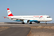 OE-LBF - Austrian Airlines/Arrows/Tyrolean Airbus A321 aircraft
