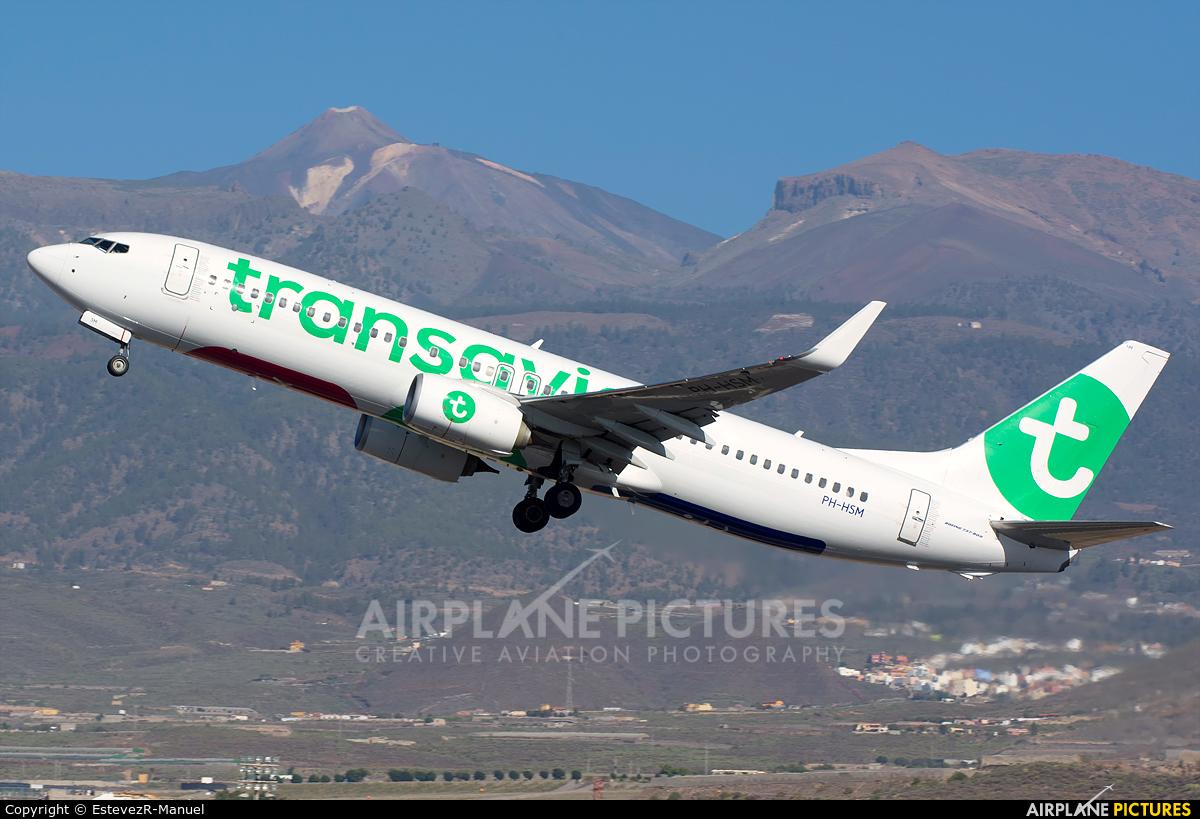 Transavia PH-HSM aircraft at Tenerife Sur - Reina Sofia