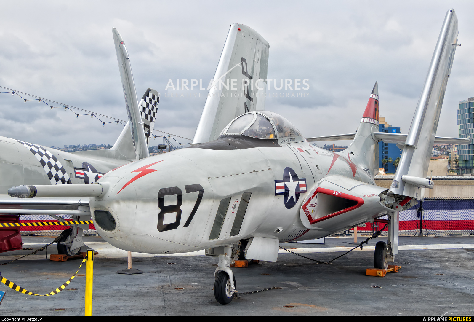 USA - Navy 141702 aircraft at San Diego - USS Midway Museum