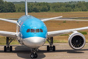 First visit of Boeing 787 Dreamliner to Eindhoven title=