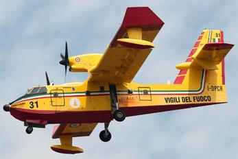I-DPCR - Italy - Protezione civile Canadair CL-415 (all marks)