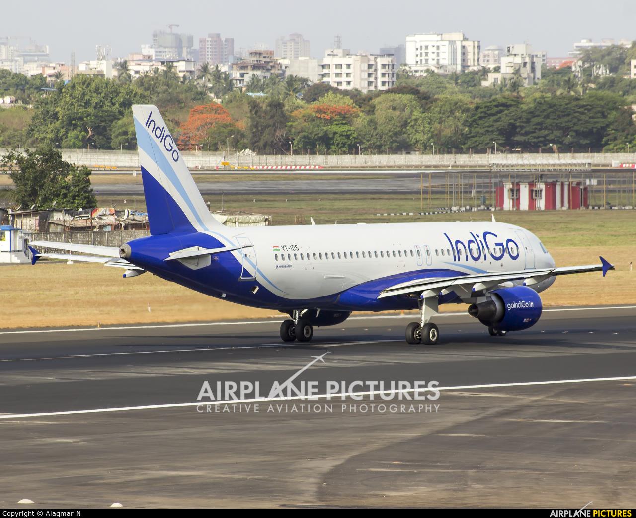 IndiGo VT-IDS aircraft at Mumbai - Chhatrapati Shivaji Intl