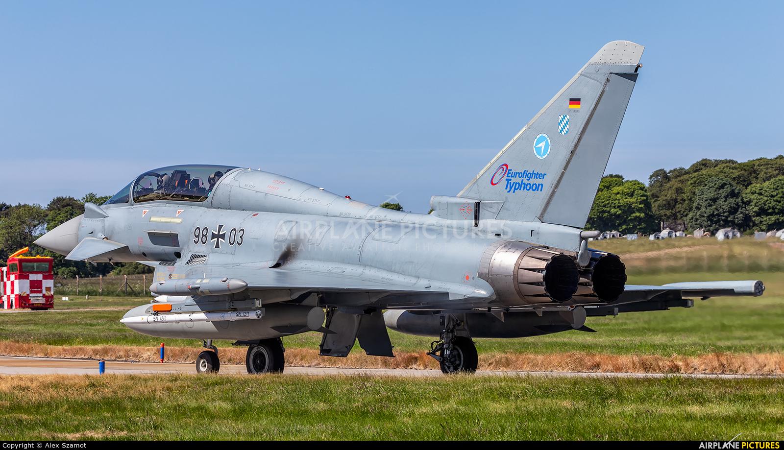 Germany - Air Force 98+03 aircraft at Lossiemouth