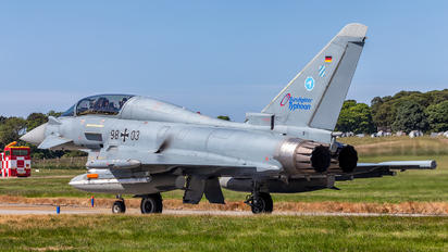 98+03 - Germany - Air Force Eurofighter Typhoon T