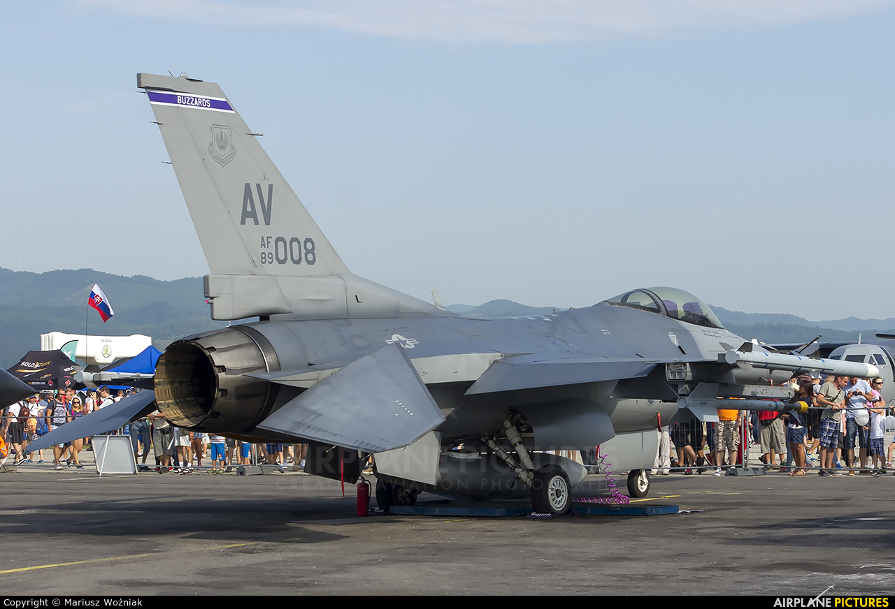 USA - Air Force 89-2008 aircraft at Sliač