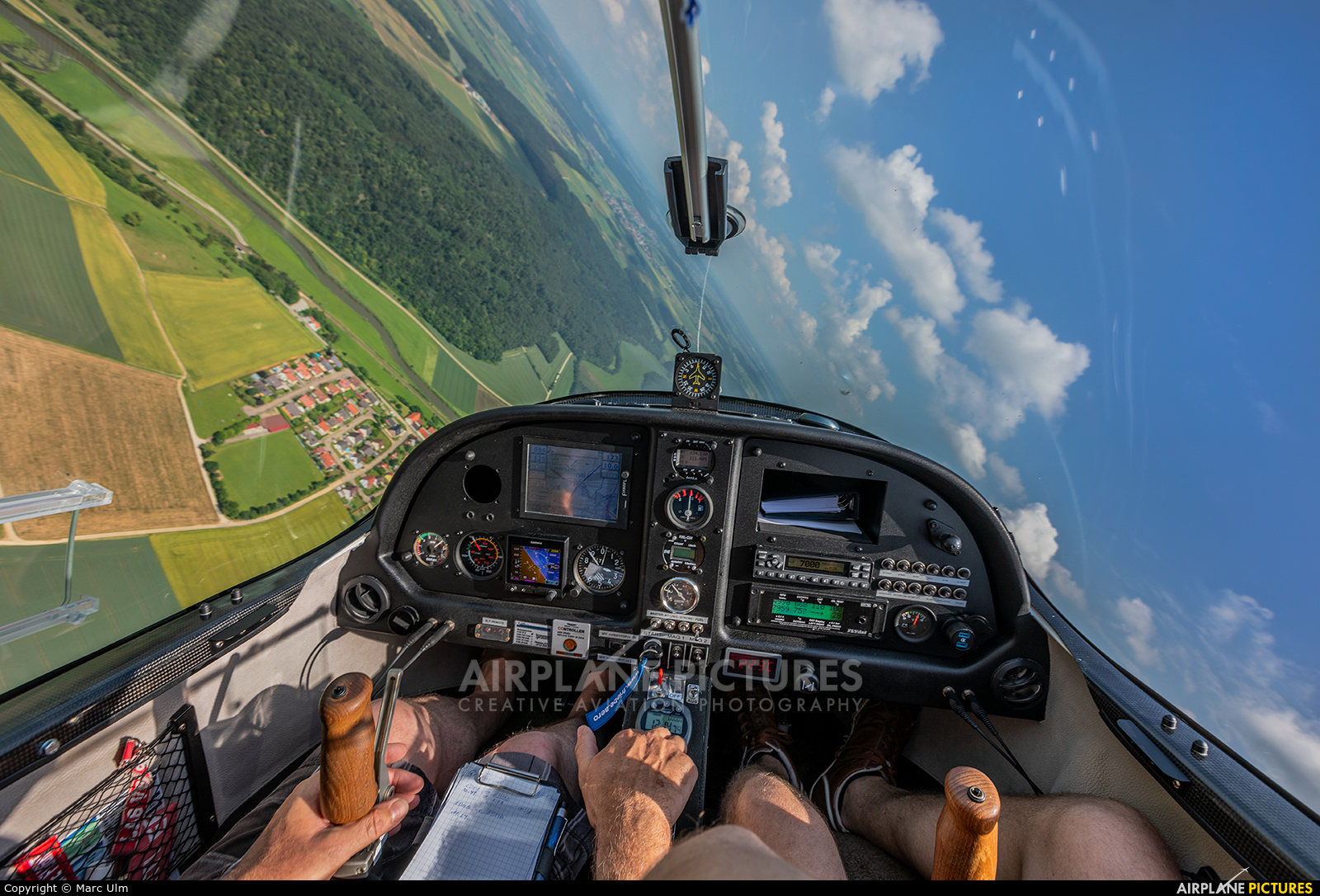 Private D-MAHL aircraft at In Flight - Germany
