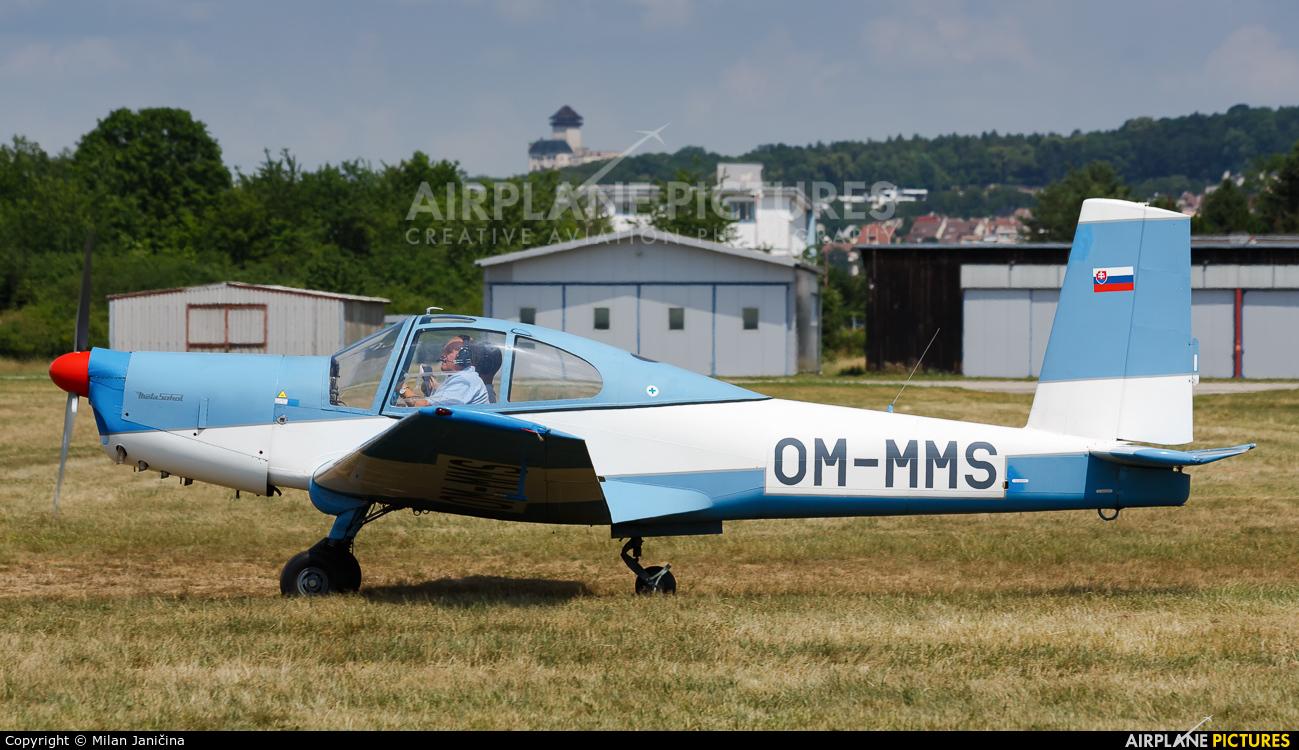 Slovensky Narodny Aeroklub OM-MMS aircraft at Trenčín