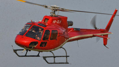 HB-ZLH - Private Eurocopter AS350B3