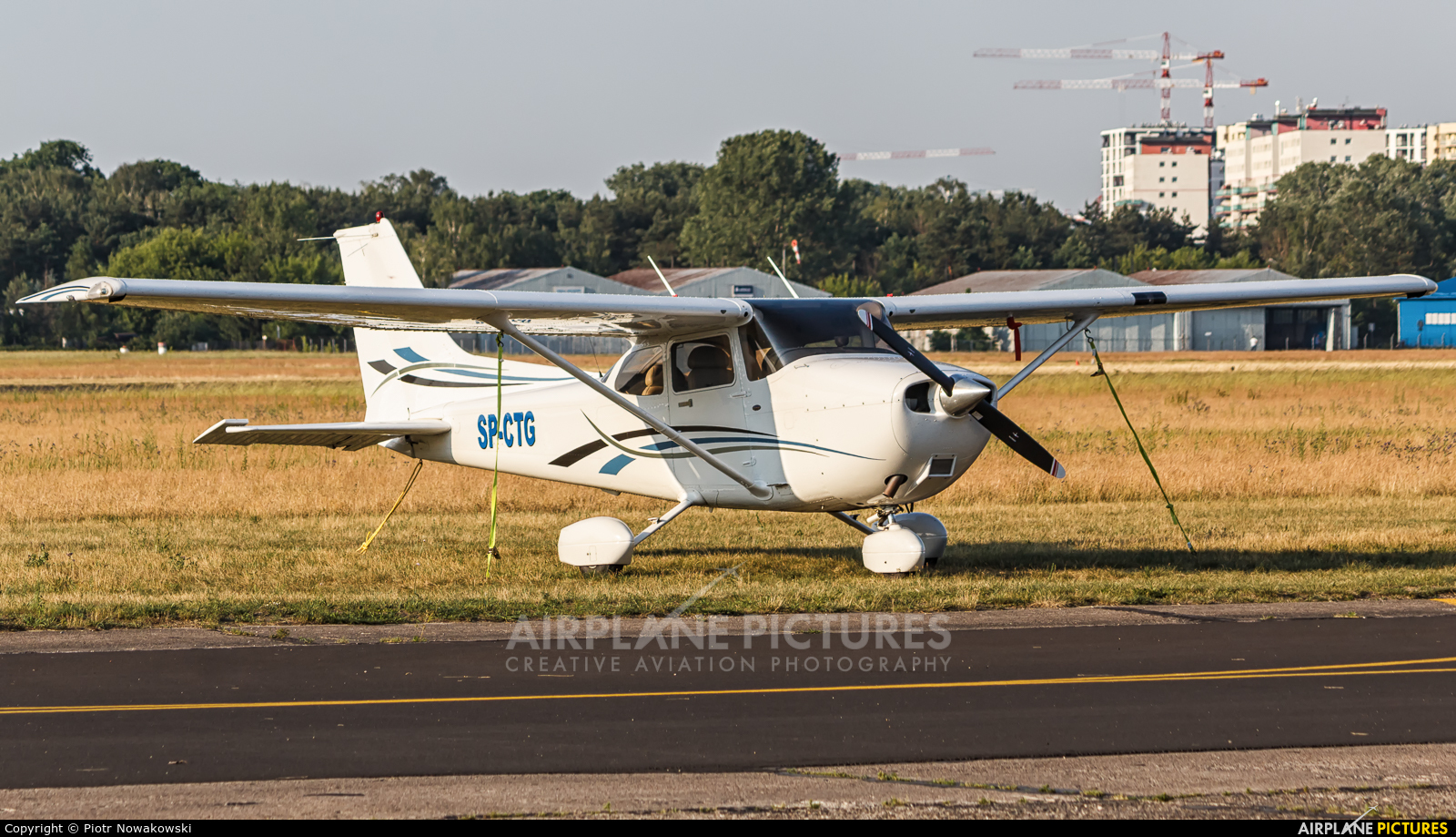 Private SP-CTG aircraft at Warsaw - Babice
