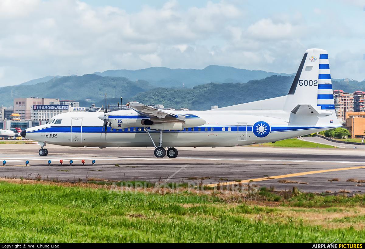 Taiwan - Air Force 5002 aircraft at Taipei Sung Shan/Songshan Airport
