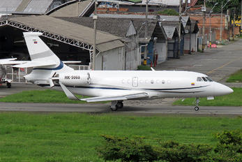 HK-5068 - Helistar Colombia Dassault Falcon 2000
