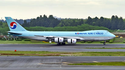 HL7623 - Korean Air Cargo Boeing 747-8F