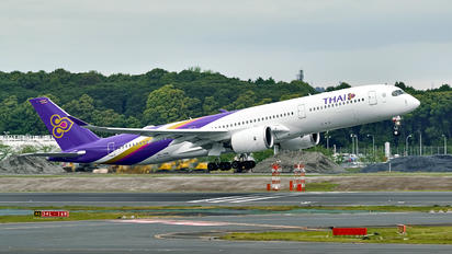 HS-THK - Thai Airways Airbus A350-900