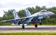 RF-81763 - Russia - Air Force Sukhoi Su-35S aircraft