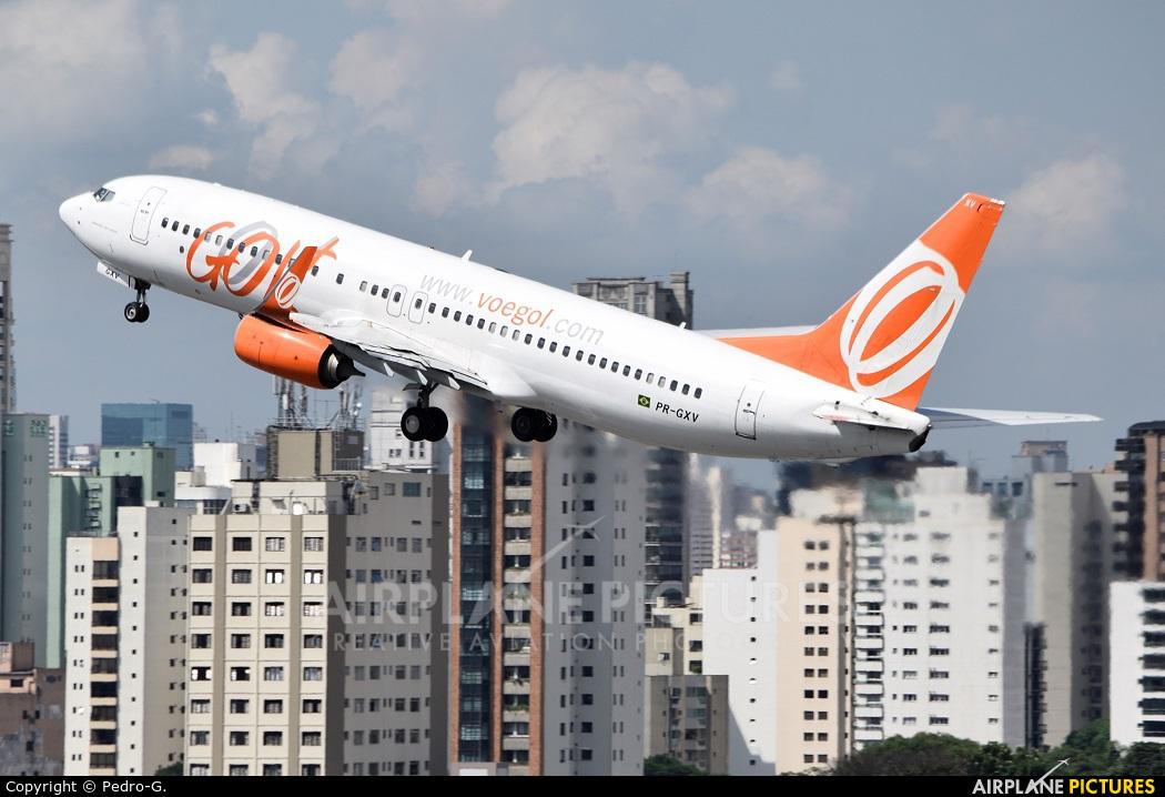 GOL Transportes Aéreos  PR-GXV aircraft at São Paulo - Congonhas