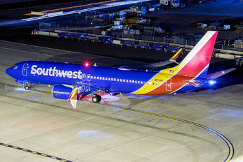 N8710M - Southwest Airlines Boeing 737-8 MAX